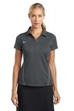 Women's Nike Golf Shirt Dri-FIT Sport Swoosh Pique Polo Flint Grey Thumbnail