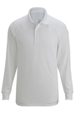 Edwards Tactical Snag Proof Unisex Long Sleeve Polo Shirt White Thumbnail
