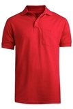 Unisx 65/35 Pkt Polo Red Thumbnail