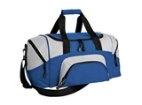 Improved Colorblock Small Sport Duffel True Royal with Grey Thumbnail