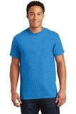 Ultra Cotton 100 Cotton T-shirt Heathered Sapphire Thumbnail