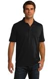 Port Company Tall 5.5-ounce Jersey Knit Polo Jet Black Thumbnail