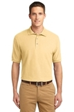 Extended Size Silk Touch Polo Shirt Banana Thumbnail