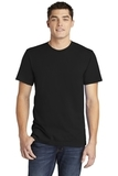 American Apparel Fine Jersey T-Shirt Black Thumbnail