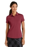 Women's Nike Golf Dri-FIT Smooth Performance Modern Fit Polo Team Red Thumbnail