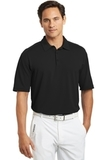 Nike Golf Shirt Dri-FIT Mini Texture Polo Black Thumbnail