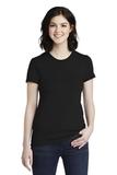 Women's Fine Jersey T-Shirt Black Thumbnail