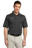 Nike Golf Shirt Dri-FIT Sport Swoosh Pique Flint Grey Thumbnail