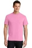 50/50 Cotton / Poly T-shirt Candy Pink Thumbnail