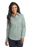 Women's Superpro Oxford Shirt Green Thumbnail