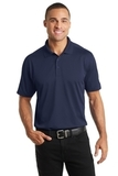 Diamond Jacquard Polo True Navy Thumbnail
