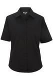 Women's Short Sleeve Service Shirt Black Thumbnail