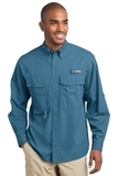 Eddie Bauer Long Sleeve Fishing Shirt Blue Gill Thumbnail