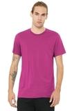 BELLACANVAS Unisex Jersey Short Sleeve Tee Berry Thumbnail