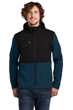 Castle Rock Hooded Soft Shell Jacket Blue Wing Thumbnail