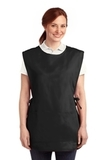 Easy Care Cobbler Apron With Stain Release Black Thumbnail