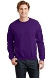 Heavy Blend Crewneck Sweatshirt Purple Thumbnail