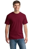Heavy Cotton 100 Cotton T-shirt Cardinal Thumbnail