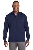 Sport-Wick Fleece Full-Zip Jacket Navy Thumbnail
