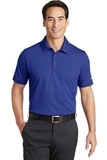 Nike Golf Dri-FIT Solid Icon Pique Modern Fit Polo Deep Royal Blue Thumbnail