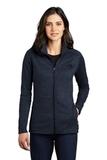 Women's The North Face Skyline Full-Zip Fleece Jacket Urban Navy Heather Thumbnail