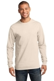 Essential Long Sleeve T-shirt Natural Thumbnail
