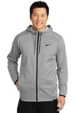 Nike Golf Therma-FIT Textured Fleece Full-Zip Hoodie Grey Thumbnail