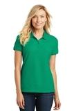Women's Core Classic Pique Polo Bright Kelly Green Thumbnail