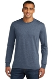 Made Men's Perfect Tri Long Sleeve Crew Tee Navy Frost Thumbnail
