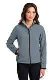 Women's Glacier Soft Shell Jacket Atlantic Blue with Chrome Thumbnail