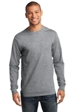 Essential Long Sleeve T-shirt Athletic Heather Thumbnail