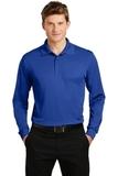 Long Sleeve Micropique Polo Shirt True Royal Thumbnail