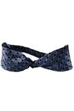 Women's Silk Honeycomb Neckerchief French Blue Thumbnail