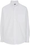 Men's Cotton Twill Rich Long Sleeve Twill Shirt White Thumbnail