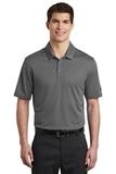 Nike Golf Dri-FIT Hex Textured Polo Dark Grey Thumbnail