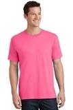 5.5-oz 100 Cotton T-shirt Neon Pink Thumbnail