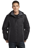 Colorblock 3-in-1 Jacket Black with Black and Magnet Thumbnail