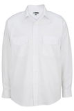 Men's Long-sleeve Navigator Shirt White Thumbnail