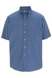 Men's Dress Button Down Oxford SS French Blue Thumbnail