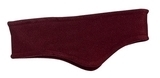 Stretch Fleece Headband Maroon Thumbnail