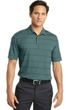 Nike Golf Dri-fit Fade Stripe Polo Sport Teal with Anthracite Thumbnail