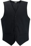 Redwood & Ross Signature Men's High-button Vest Navy Thumbnail