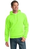 Pullover Hooded Sweatshirt Neon Green Thumbnail