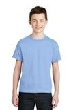 Youth Ultra Blend 50/50 Cotton / Poly T-shirt Light Blue Thumbnail
