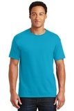 50/50 Cotton / Poly T-shirt California Blue Thumbnail