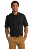 Jersey Knit Pocket Polo 5.5-ounce Jet Black Thumbnail