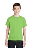 Youth Ultra Blend 50/50 Cotton / Poly T-shirt Lime Thumbnail