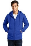 Port & Company Fan Favorite Fleece Full-Zip Hooded Sweatshirt True Royal Thumbnail