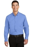 SuperPro Twill Shirt Ultramarine Blue Thumbnail