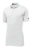 Nike Victory Striped Polo Pure Platinum with White Thumbnail